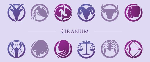 Oranum horoscope header