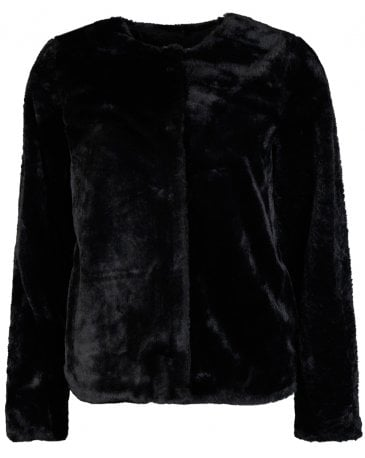 Saint Tropez Faux Fur Short Jacket