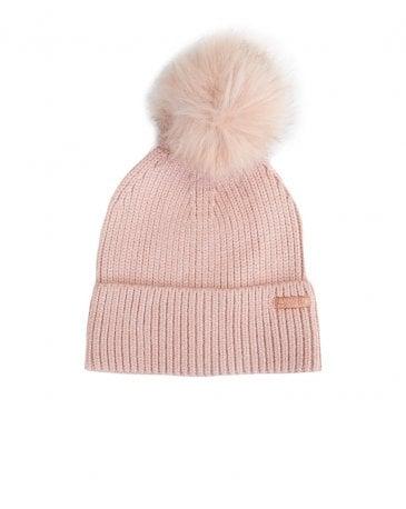 Mallory Pom Pom Beanie Hat