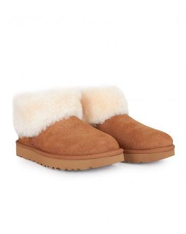 Classic Mini Fluff Shearling Boots