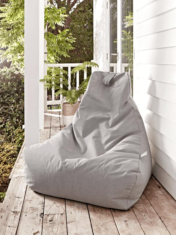 Indoor Outdoor Beanbag - Grey