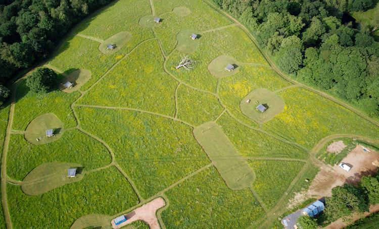 Campsites with spacious pitches