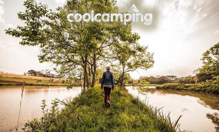 Cool Camping Logo