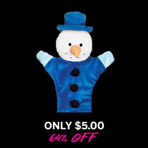 Zanies Festive Unstuffies Dog Toy - Snowman