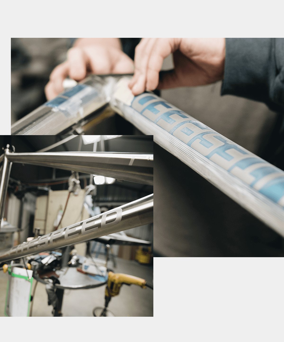From the weld shop to the etching booth, Litespeed bikes are proudly handmade in the USA.