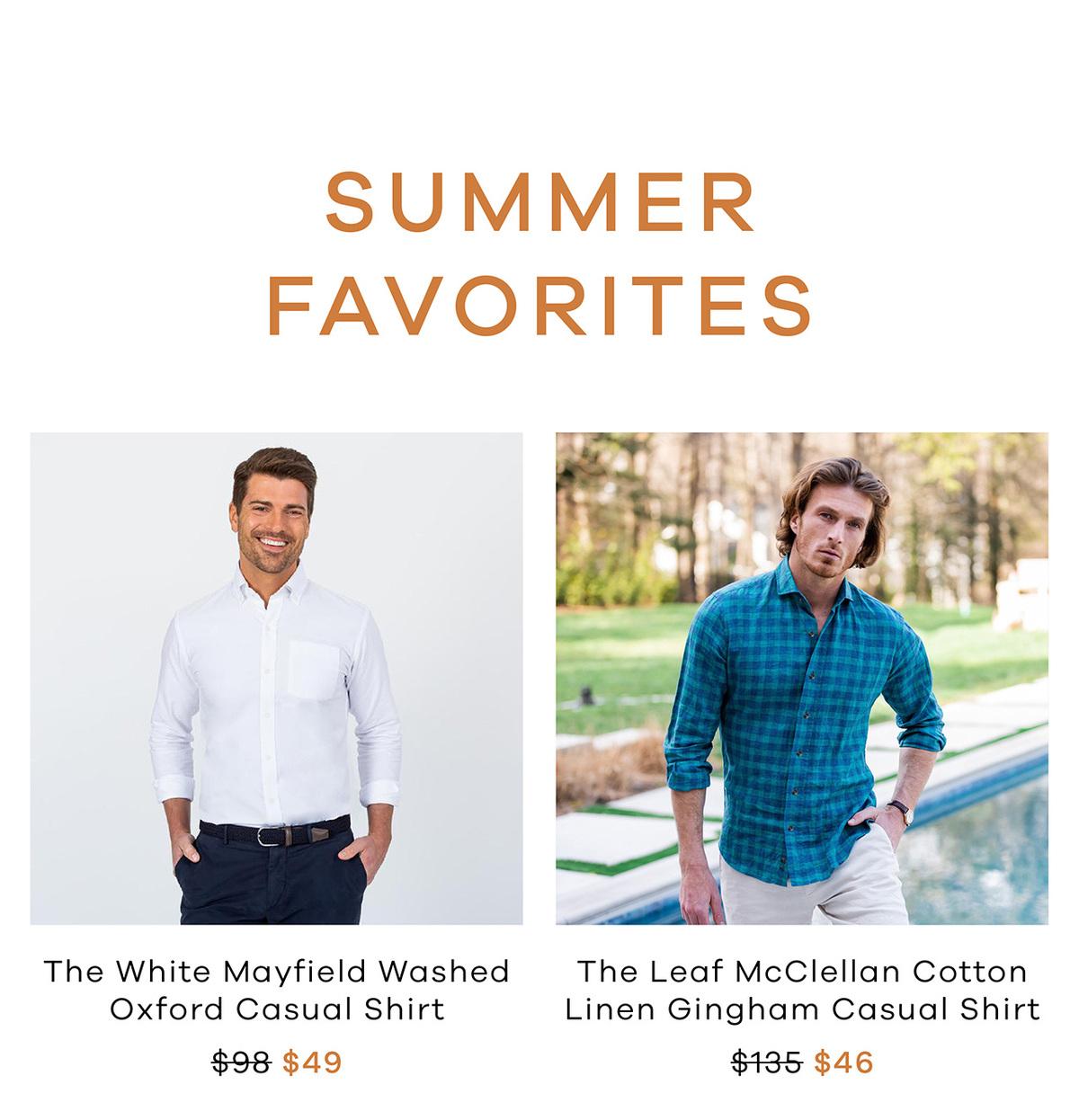 Summer Favorites - SHOP NOW