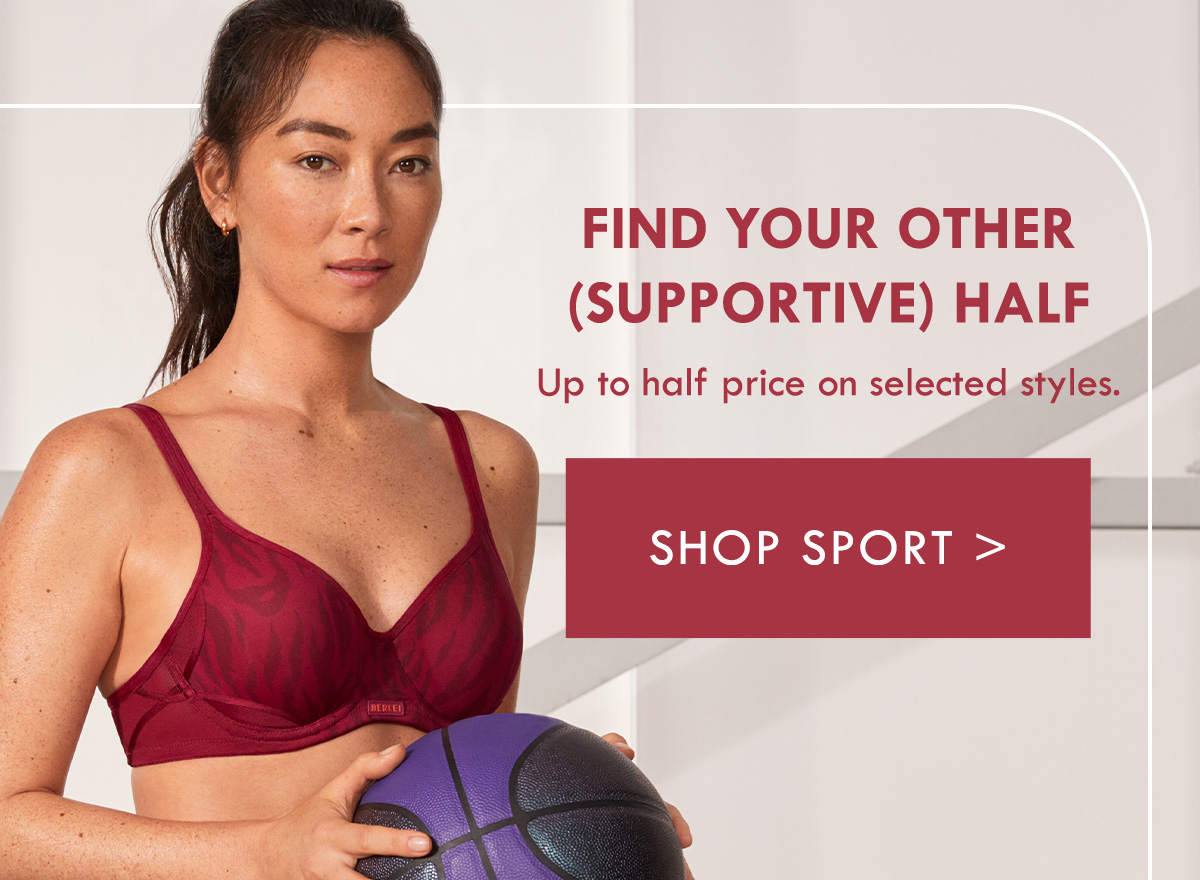 Find your other half. Up to half price on selected styles. Shop Sport.