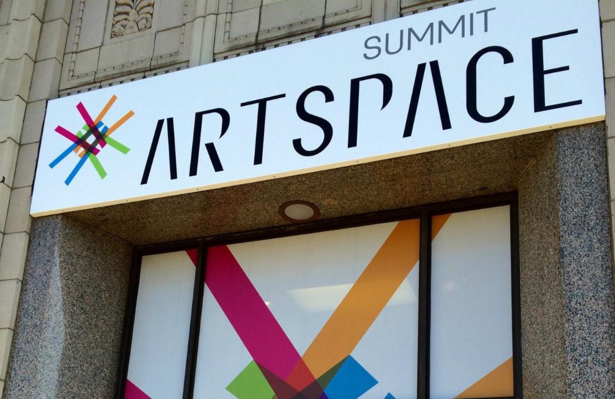 Summit Artspace Entrance