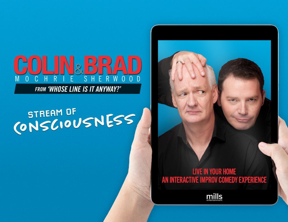 Brad and Colin