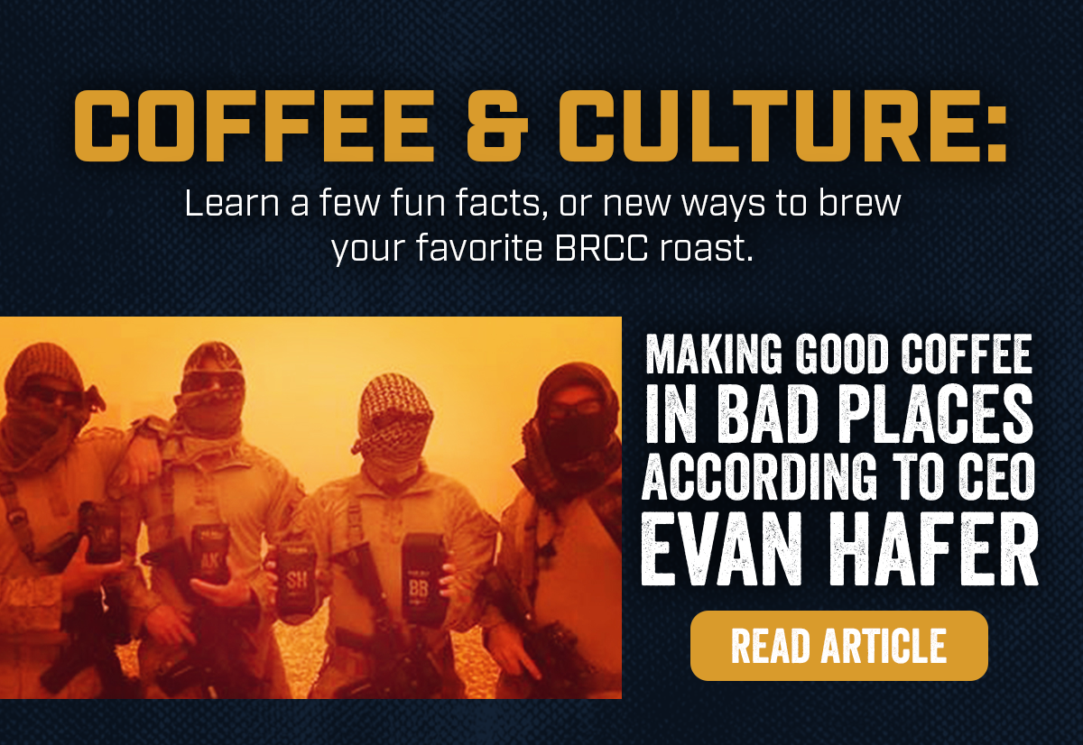 Making Good Coffee in Bad Places According to CEO Evan Hafer