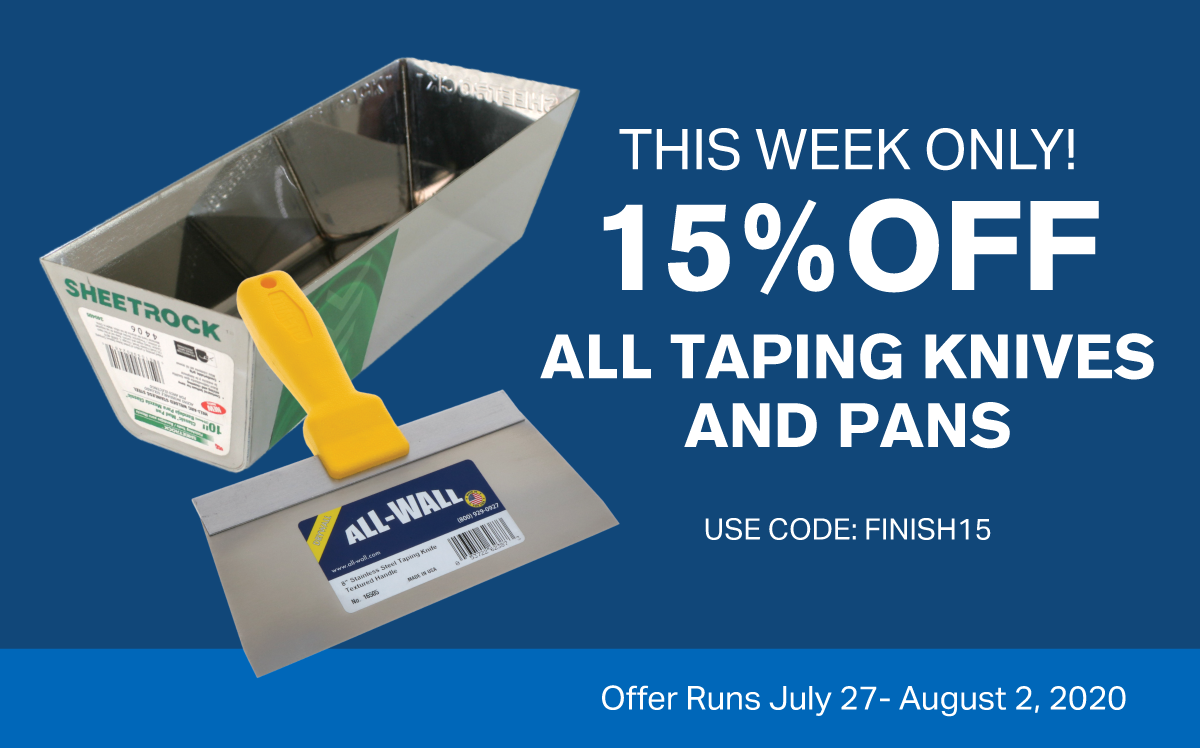 15% Off All Knives and Pans