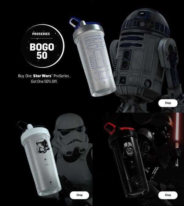 Star Wars ProSeries BOGO 50% Off