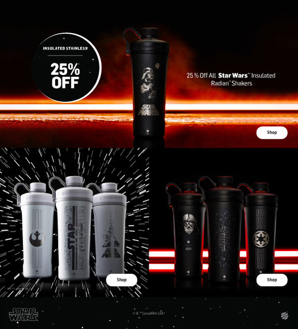 Star Wars Insulated Stainless Steel 25% Off