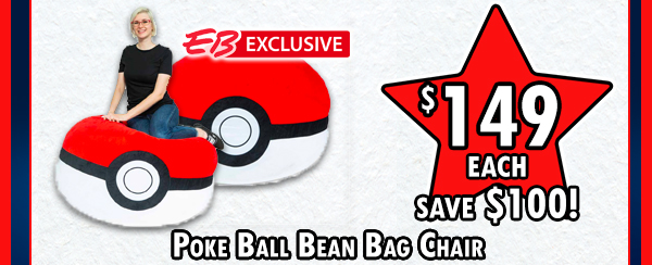 Pokeball beanbag!!