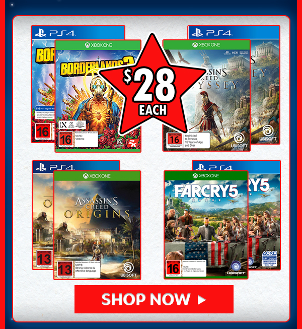 Games for $28!!