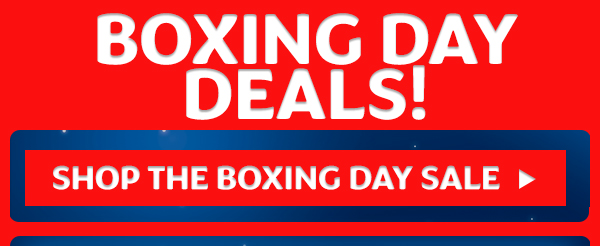 Boxing day deals!!