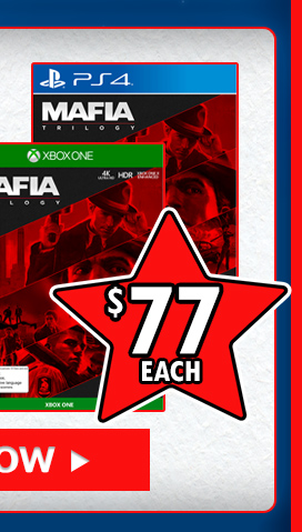 Mafia trilogy at $77!