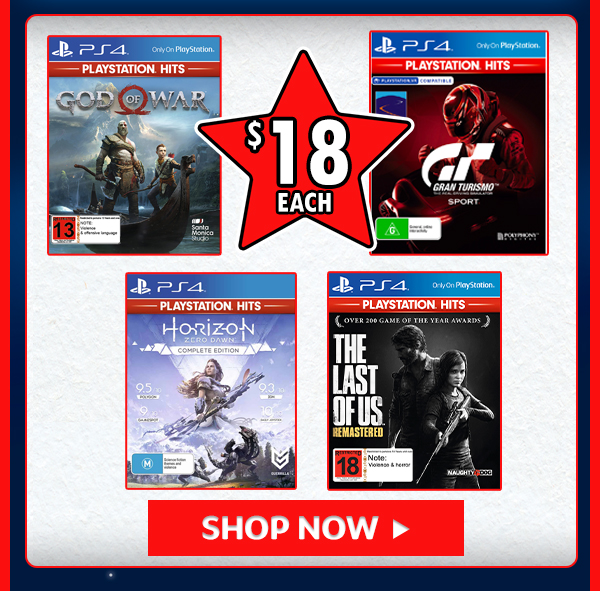 Games for $18!