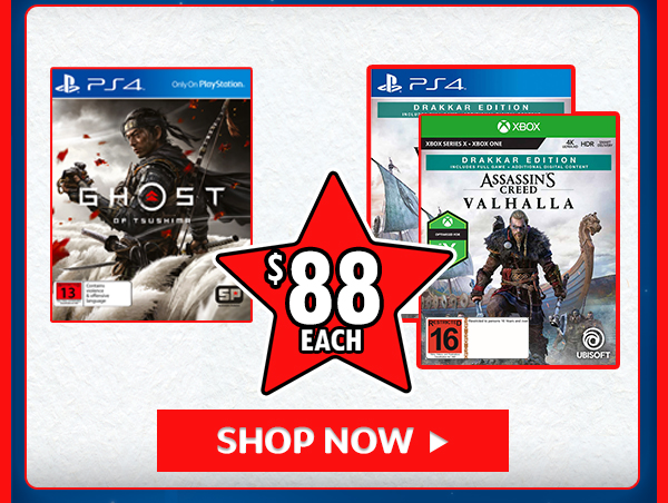 Games for $88!!