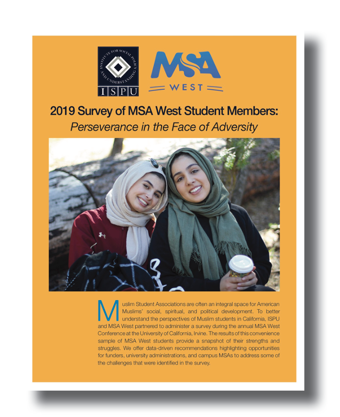 2019 Survey of MSA West Report Cover