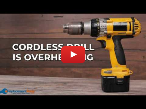 Drill Troubleshooting: Why is My Cordless Drill Overheating? | eReplacementParts.com