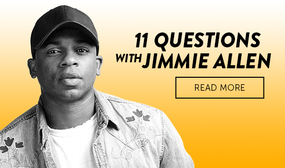 11 Questions with Jimmie Allen
