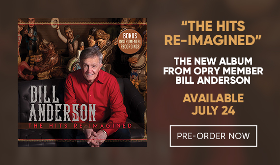 New Album from Bill Anderson