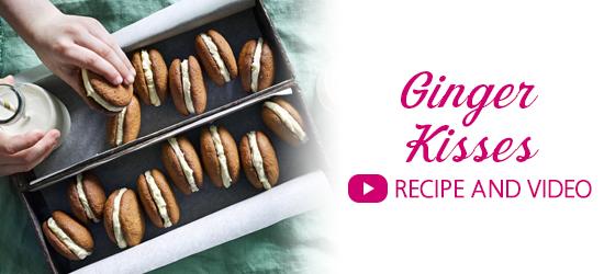 Ginger Kisses Recipe