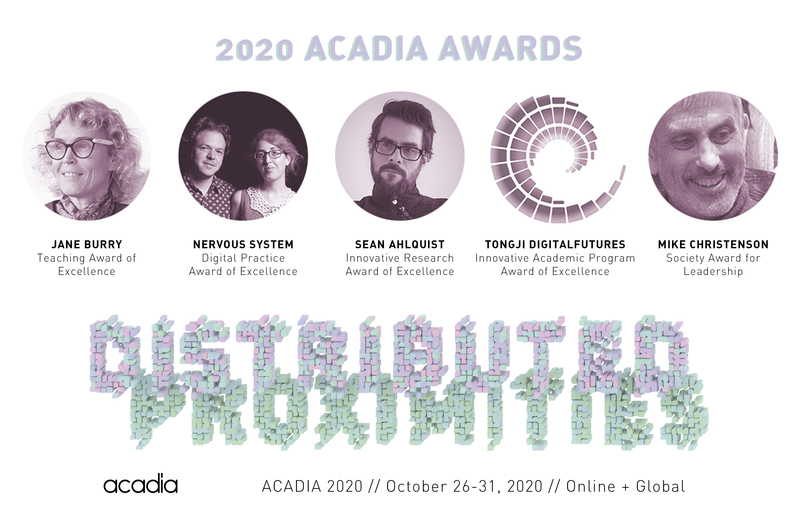 Acadia2020 awards
