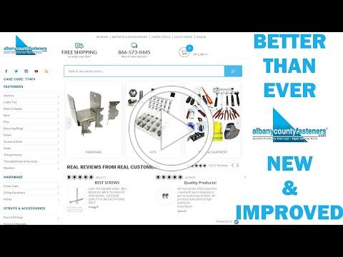 Albany County Fasteners | New & Improved With Faceted Search