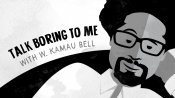 W. Kamau Bell's Animated 'Talk Boring to Me' Examines Much of