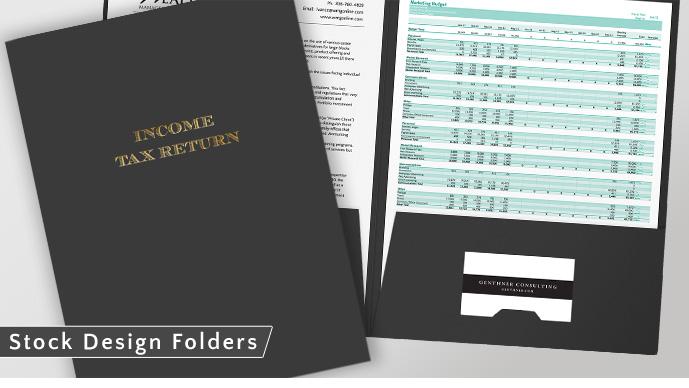 stock Folder Options