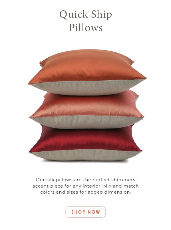 Quick Ship Pillows