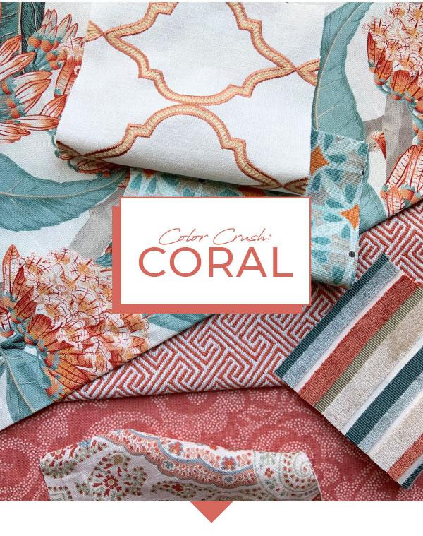 Shop Coral Fabrics