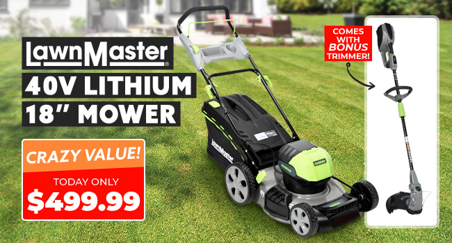 Lawnmaster Mower & Trimmer
