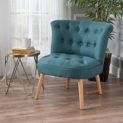 Donna Plush Modern Tufted Accent Chair