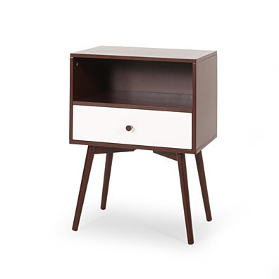 Alexis Mid-Century Modern Side Table