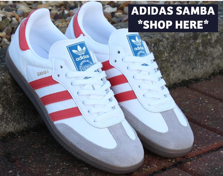 adidas Samba White/Red