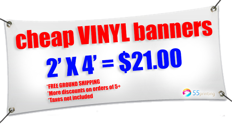 vinyl banners deal