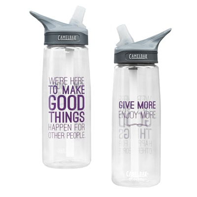 Make Good Things Happen Water Bottle