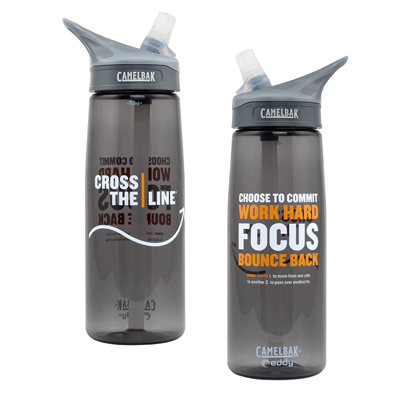 Cross The Line Water Bottle