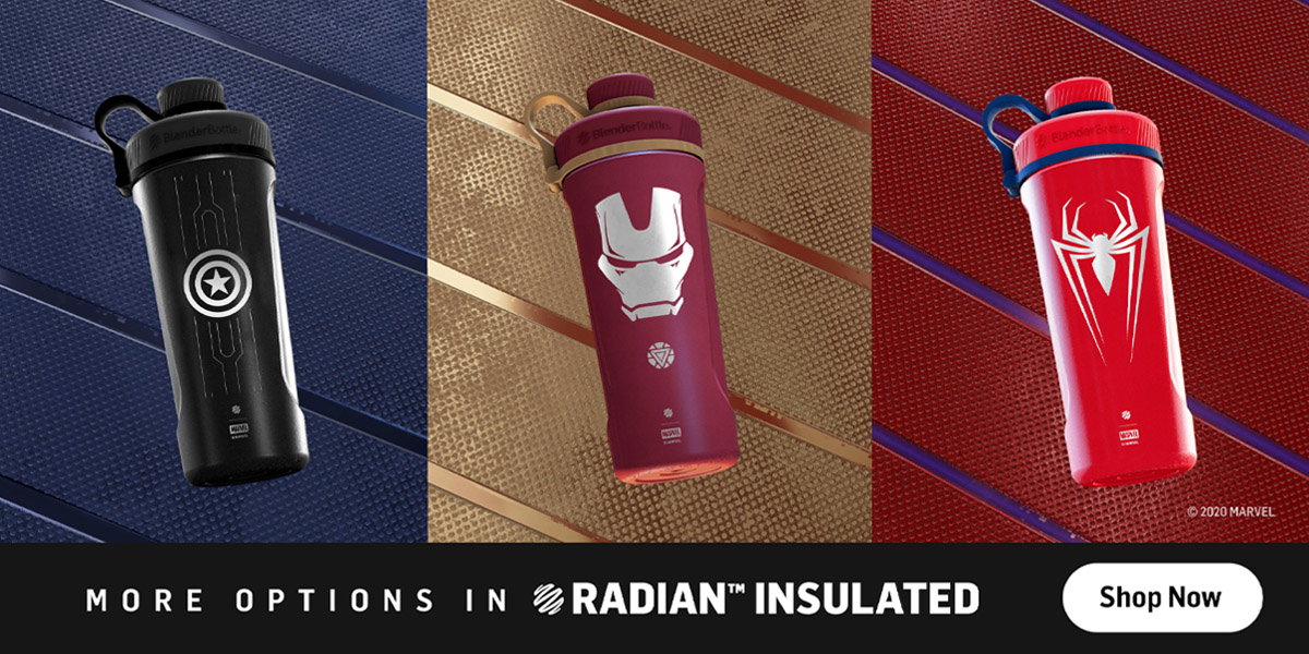 Marvel Radian Insulated Stainless Steel Shakers