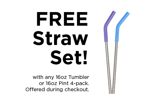 FREE Straw Set with Purchase