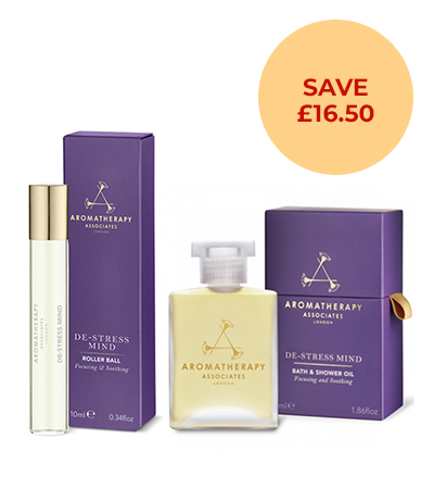 De-stress Mind Collection by Aromatherapy Associates