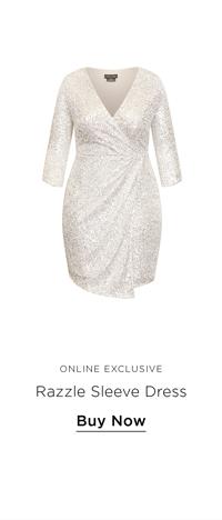 Razzle Elbow Sleeve Dress