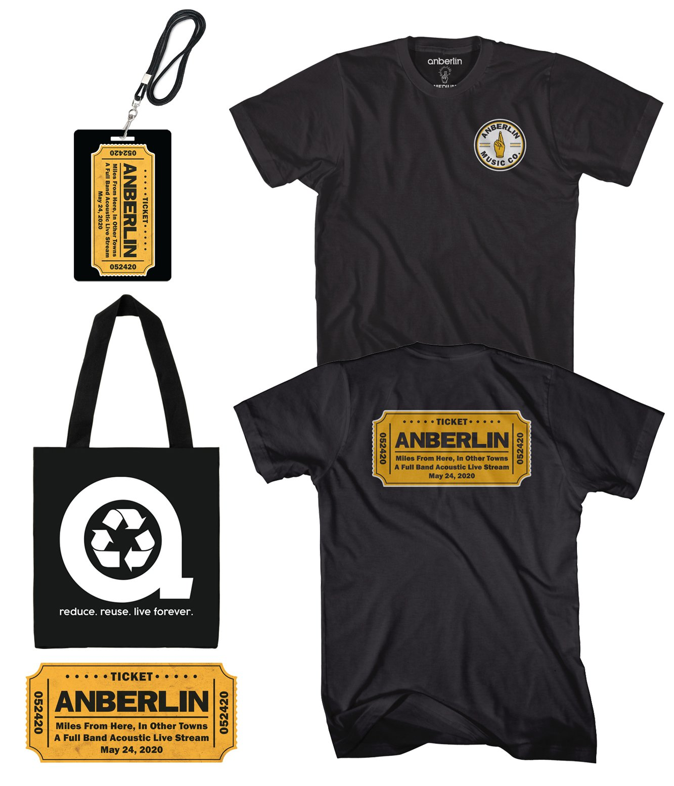 Anberlin Miles From Here In Other Towns - Live Stream Bundle #7