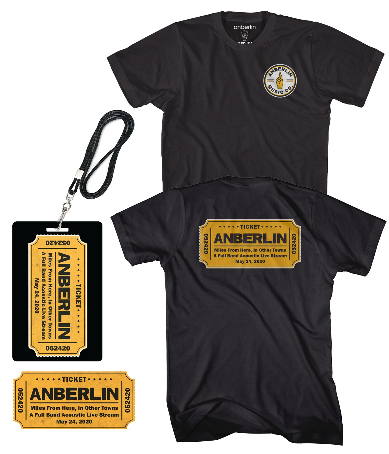 Anberlin Miles From Here In Other Towns - Live Stream Bundle #4
