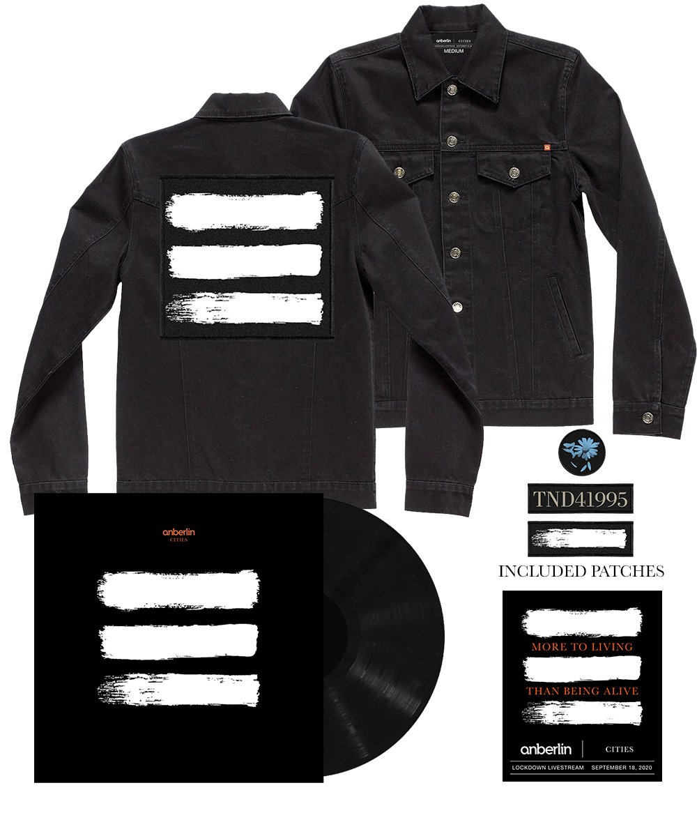 Anberlin More To Living Than Being Alive Limited Bundle *PREORDER - SHIPS NOV 13