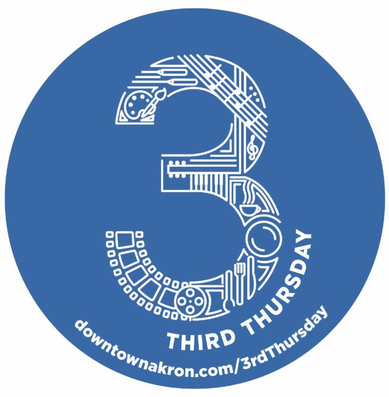 3rd Thursday Akron logo
