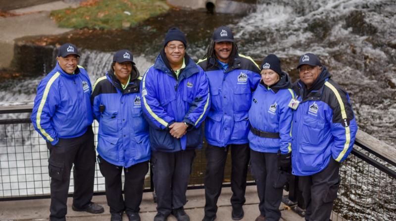 Photograph of DAP ambassadors by Shane Wynn